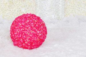 Artificial flower ball