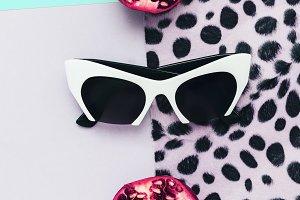 Fashion Sunglasses White