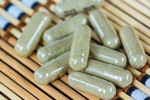 Herb capsule.