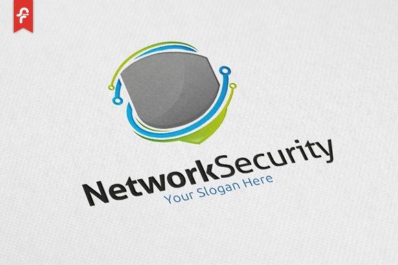 network security logo logo templates creative market
