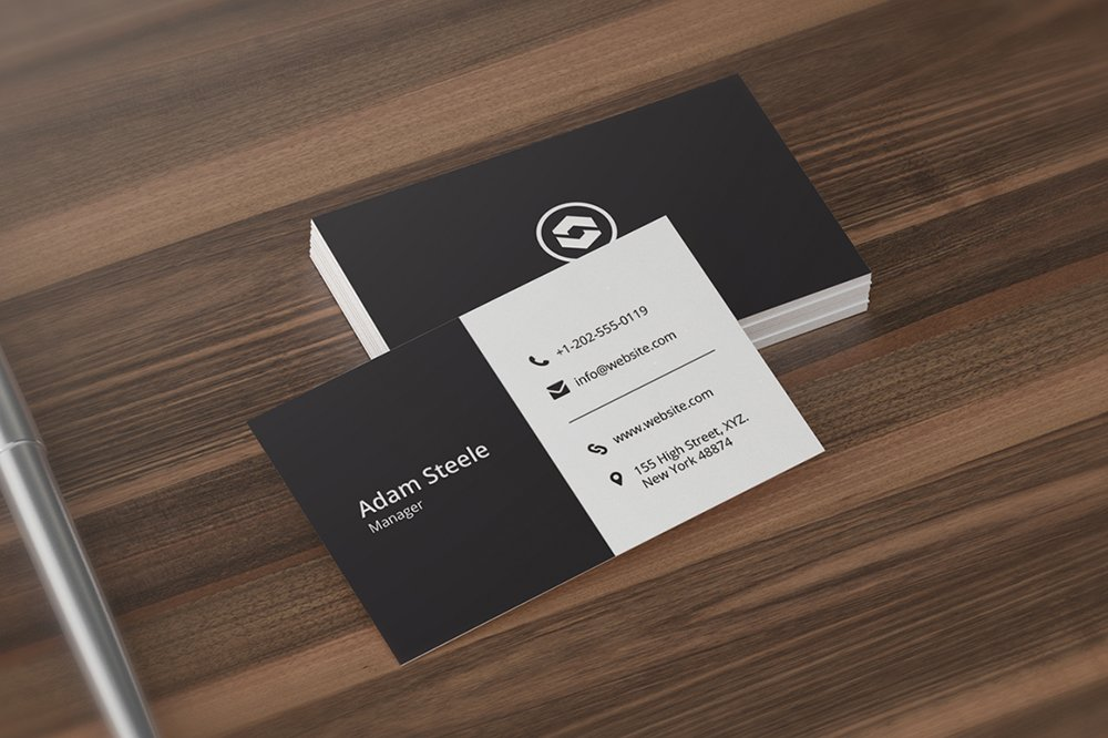 Minimal Business Card Template ~ Business Card Templates ...