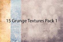15 Grunge Textures Pack 1