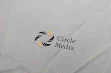Circle Media Logo Template