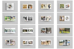 Wedding Photo Album Template-V485