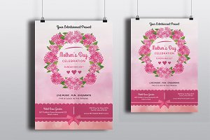 Mother's Day Flyer Template-V264