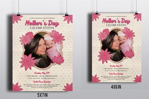 Mother's Day Flyer Template-V265