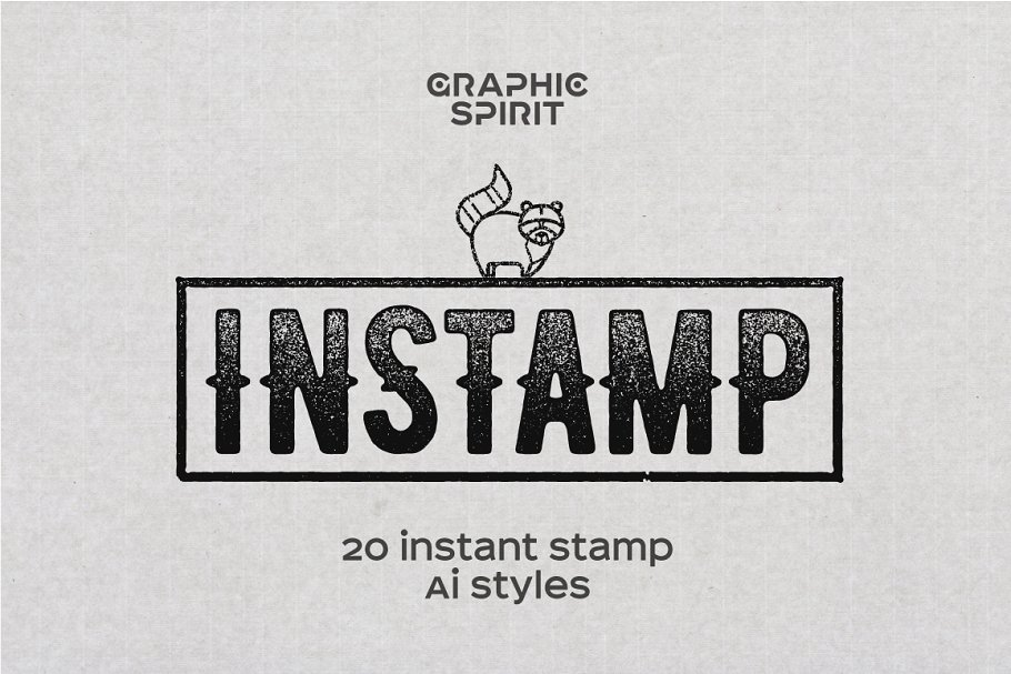 stamp effect styles for illustrator layer styles creative market pro