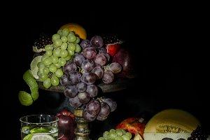 Dutch still life of fruit