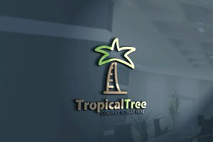 Tropical Tree Logo
