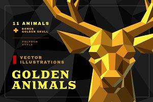 Golden animals