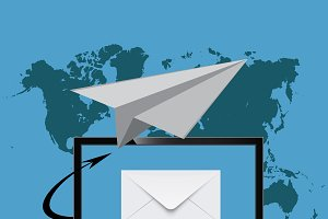 email marketing, monitor