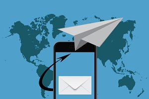 email marketing, smartphone