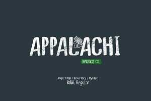 Appalachi Typeface Duo
