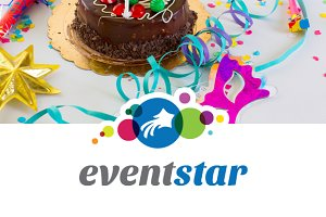 Event star logo template