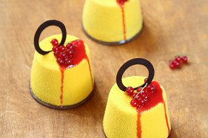 Contemporary Mousse Cakes