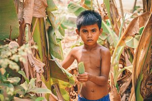 Cambodian Boy