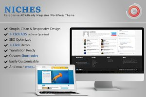 Niches - ADS-Ready WordPress Theme