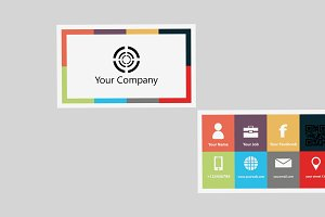 Squerbus Business Card Template