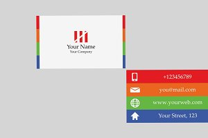Stripebusc Business Card Template