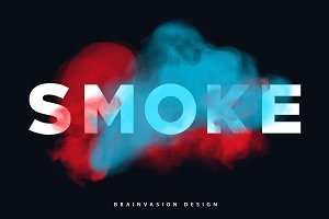 Smoke Type for Photoshop