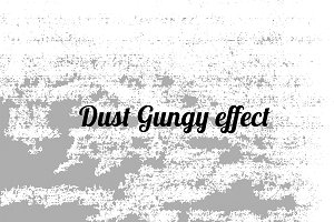 Dust Grunge effect vector
