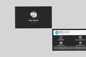 Flapsbus Business Card Template