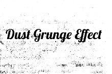 Dust Grunge effect vector