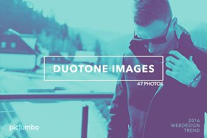 Duotone Images: 2016 Webdesign Trend