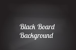 Black board with eraser effect