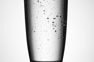 water glass with back light