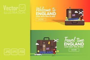England Travel Banner