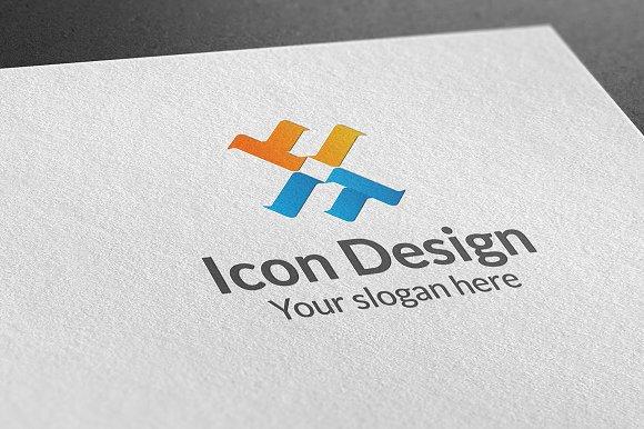 Icon Design Logo