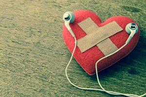 wound heart listen to music