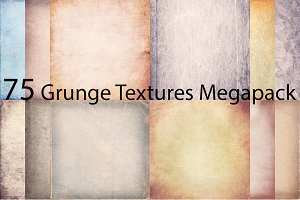 73%OFF! 75 Grunge Textures Pack