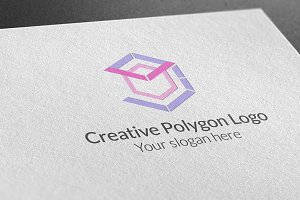 Creative Polygon Logo