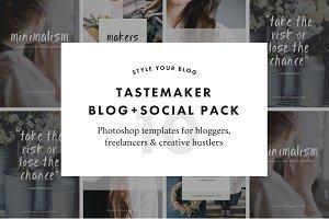 Tastemaker Blog Social Pack