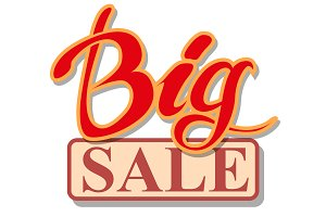 Big Sale Signboard