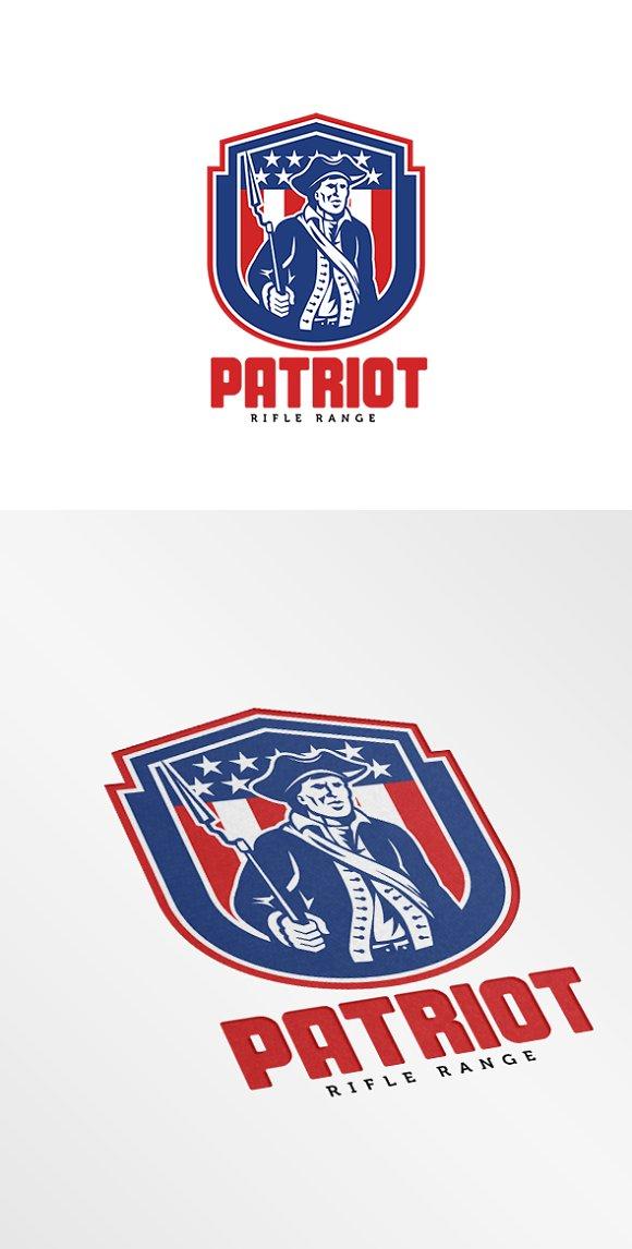 American Patriot Rifle Range Logo