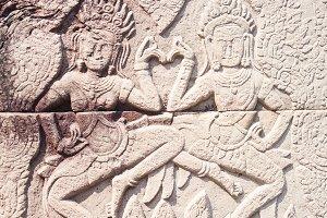 Banteay Kdei temple in Siem reap