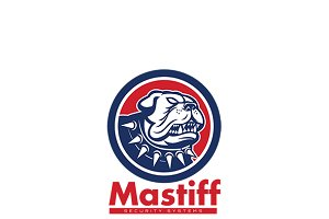 Mastiff Security Systems Logo