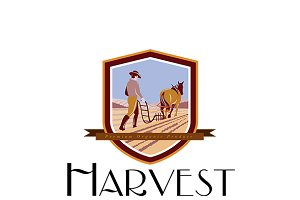 Harvest Organic Farm Produce Logo