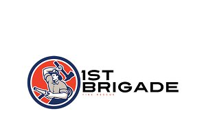 First Brigade Fire Rescue Logo