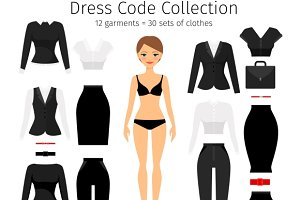 Women dress code set