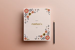 Mother's Day Card  |  Template