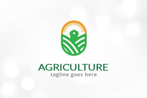 Agriculture Logo Template