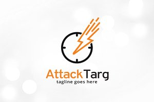 Attack Target Logo Template