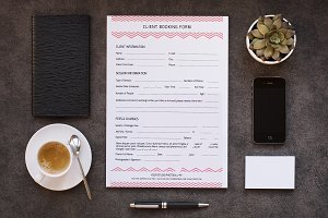 Client Contract / Booking Form-V266