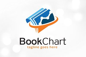 Book Chart Logo Template