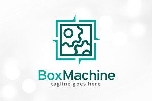 Machine Logo Template
