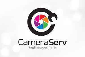 Camera Service Logo Template